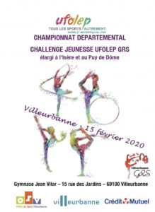CHAMPIONNAT DEPARTEMENTAL _  CHALLENGE JEUNESSE _  15/02/20